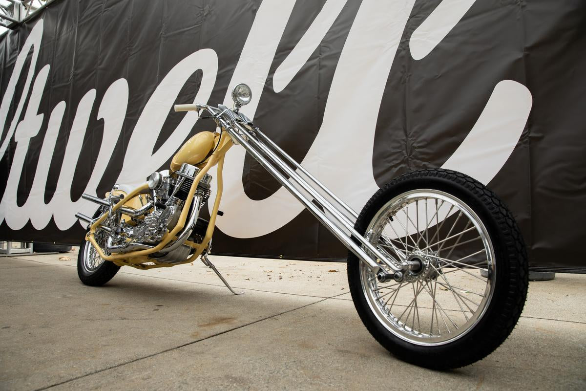 James Juarez's 1951 Panhead Chopper