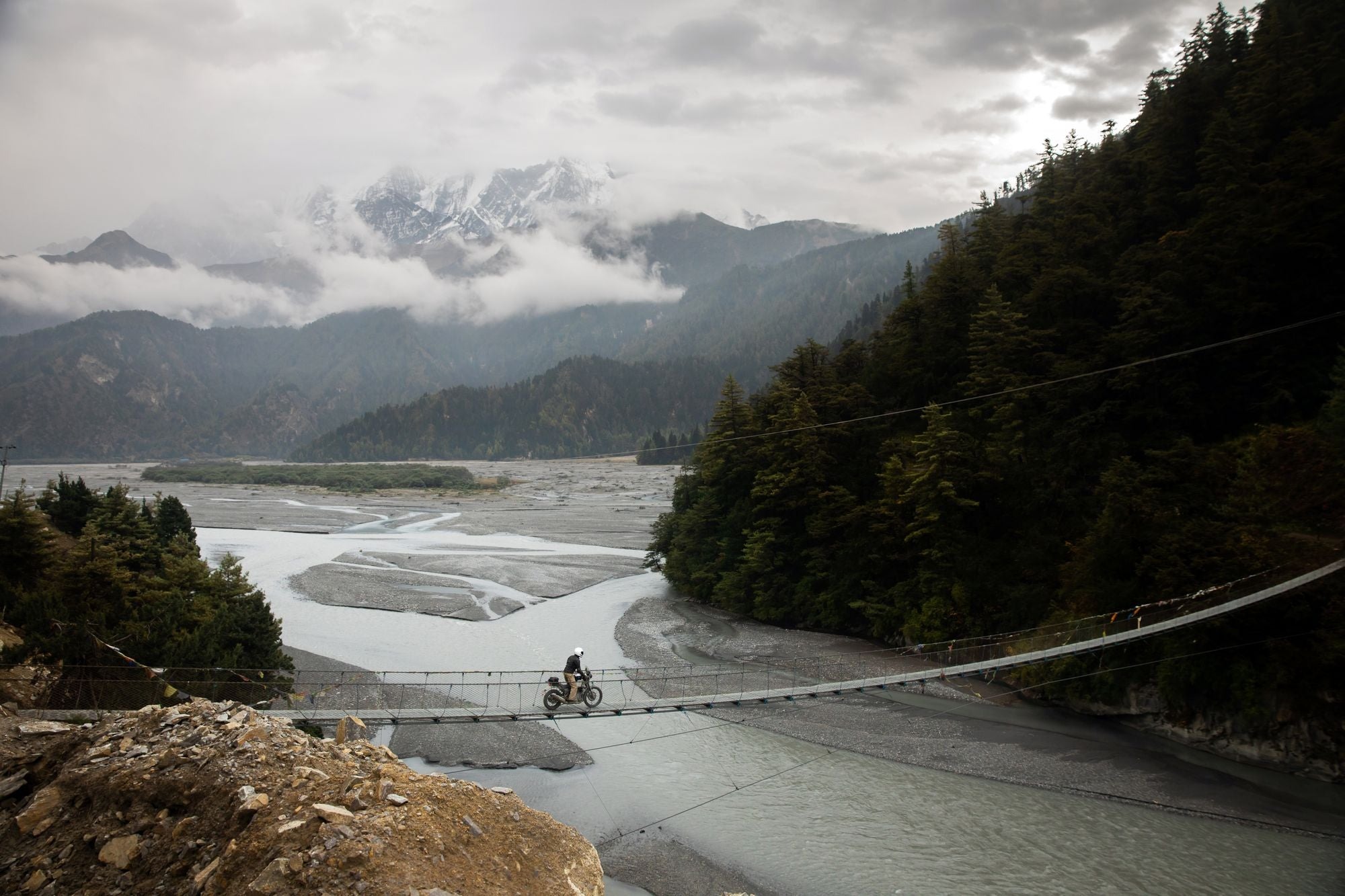 Chasing the Wizard: A Motorcycle Adventure in Nepal