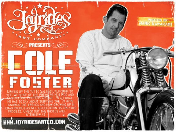 Cole Foster on Joyrides Art Co.