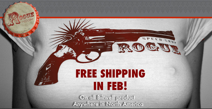 Free Shipping from Rogue Speedshop