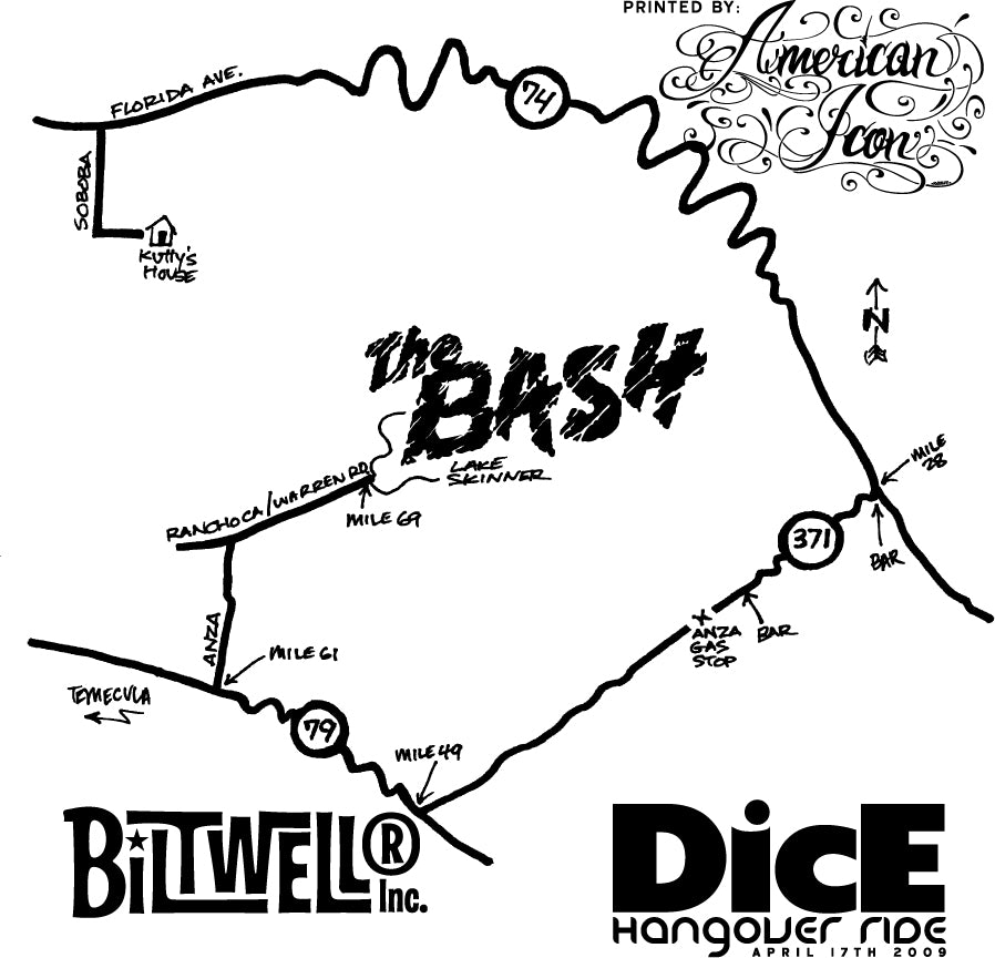 BASH: DicE HangoveR RidE