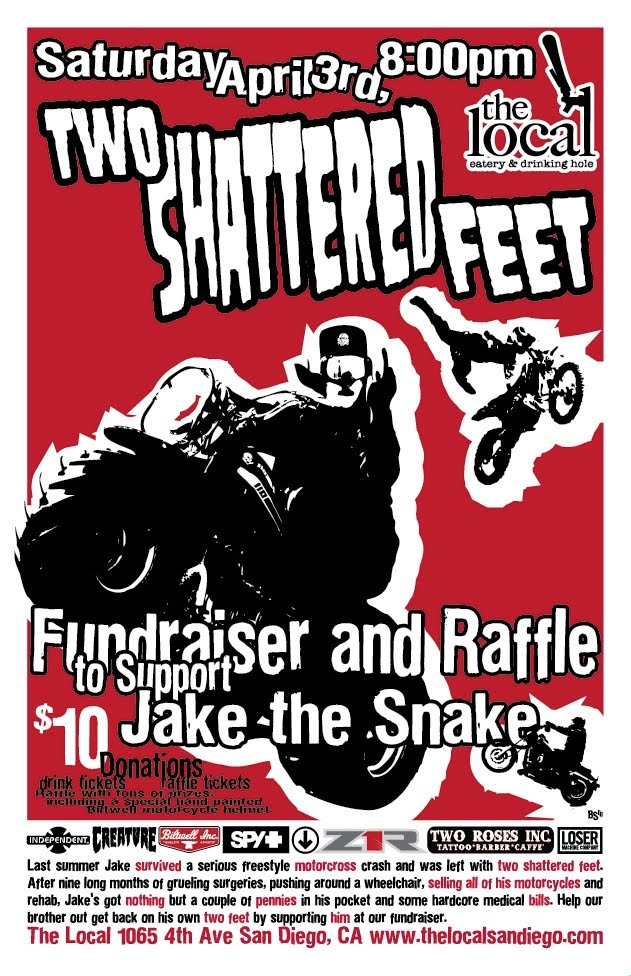 Jake the Snake Benefit