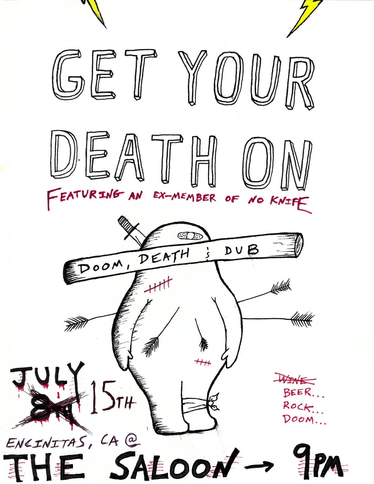 Wed Night change up Get Your Death On!