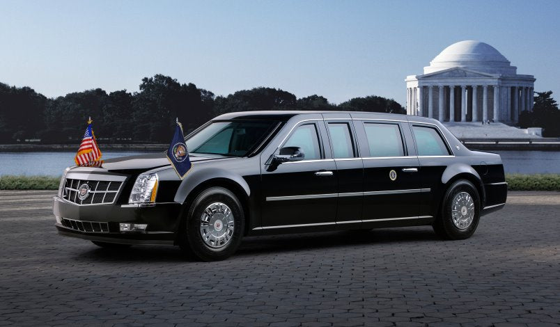 POTUS pimps his ride