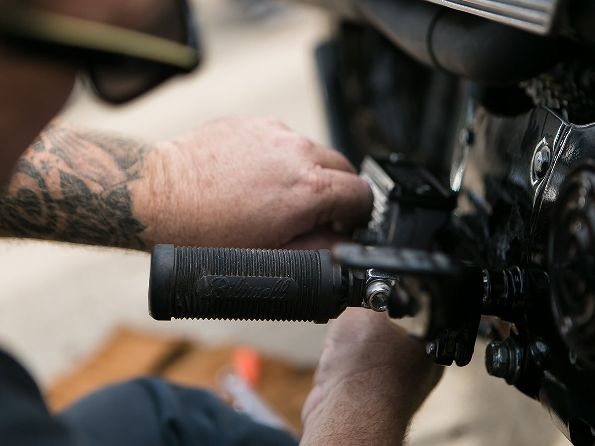 DIY 101: Installing Biltwell Foot Pegs on Stock Harley-Davidsons