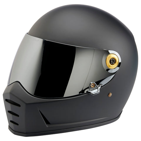 Helmet Hardware Kit - Black Screw / Gold Baseplate