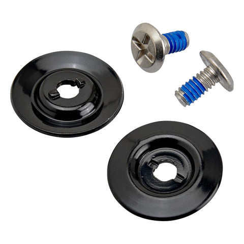 Helmet Hardware Kit - SS Screw / Black Baseplate