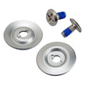 Helmet Hardware Kit - SS Screw / Silver Baseplate
