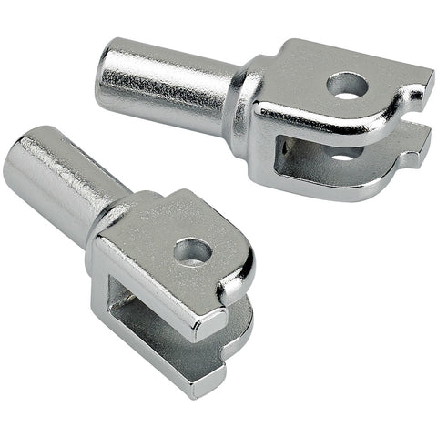 Foot Peg Clevis HD ST18 Rider - Chrome