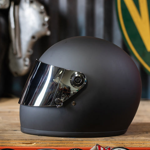 Gringo S Gen 2 Flat Shield - Chrome Mirror