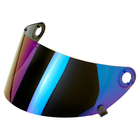 Gringo S Gen 2 Flat Shield - Rainbow Mirror