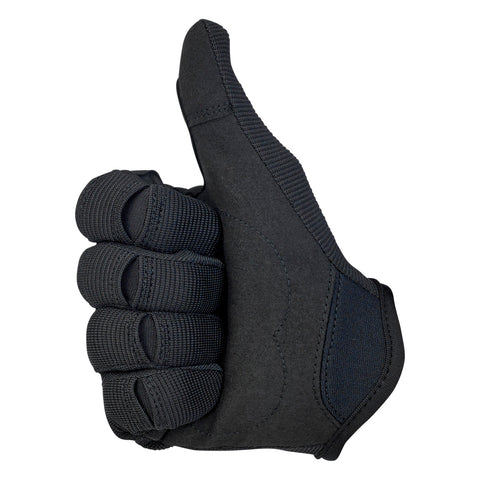 Moto Gloves - Black/Black