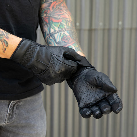 Borrego Gloves - Black/Black