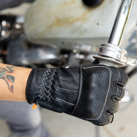 Borrego Gloves - Black/Cement