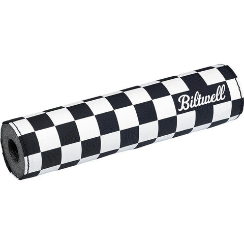 Moto Bar Pad - Checkers / Script Black