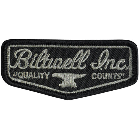 "Shield Patch 3"" - Black/Grey"