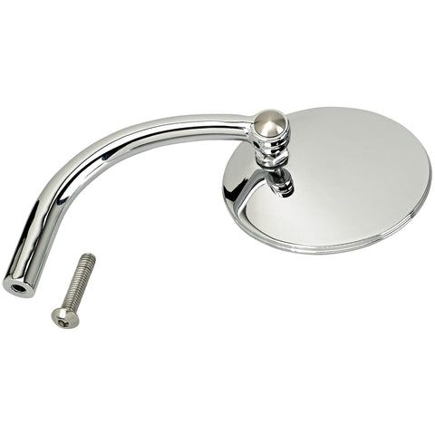 Utility Mirror Round CE Perch Mount - Chrome