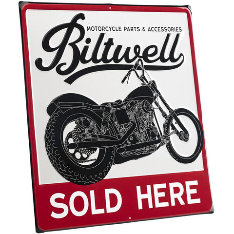 Biltwell Swingarm Shop Sign