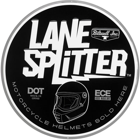 Biltwell Lane Splitter Shop Sign