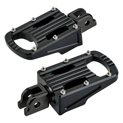 Punisher Foot Pegs HD ST18 Rider - Black