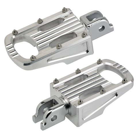 Punisher Foot Pegs HD ST18 Rider - Polished