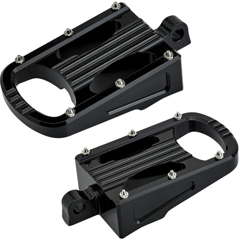 Punisher XL Foot Pegs HD Classic - Black