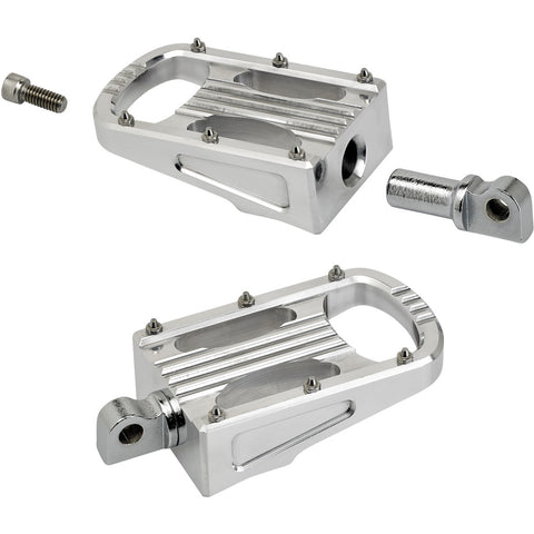 Punisher XL Foot Pegs HD Classic - Polished