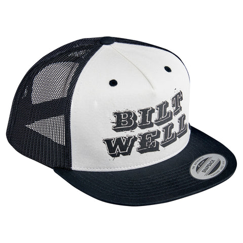 Smudge Snap Back - Black/White/Khaki