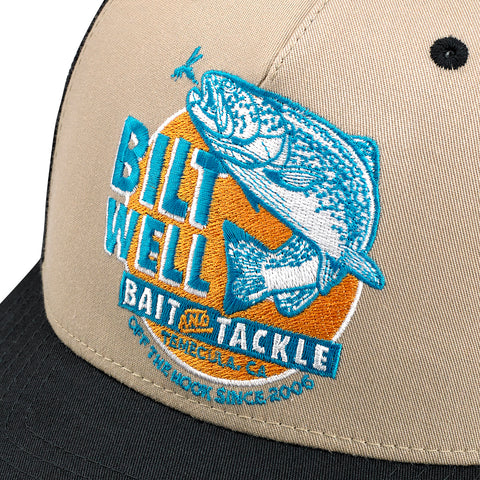 Bait Snap Back - Black/Beige/Aqua