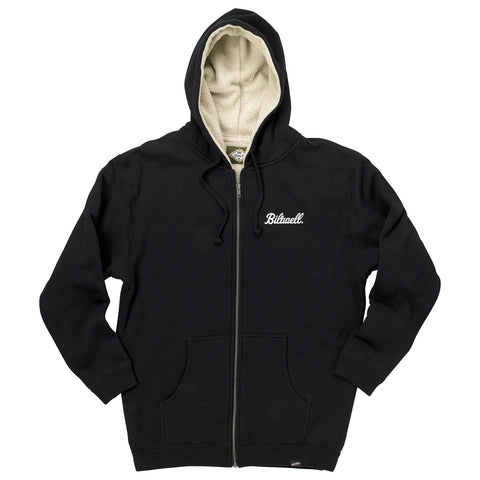 Hang Up Sherpa Zip Hoodie - Black