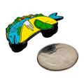 Enamel Pin Fish Taco