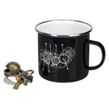 Camp Mug - Quad Black/White