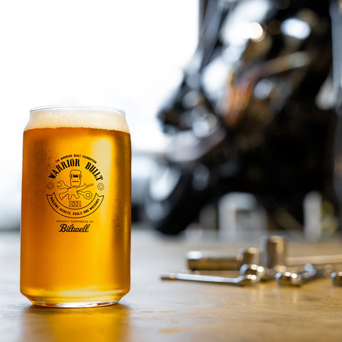 Warrior Built 2020 Pint Glass
