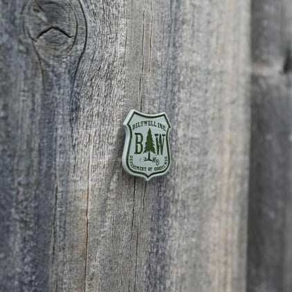 Enamel Pin Good Times - Green