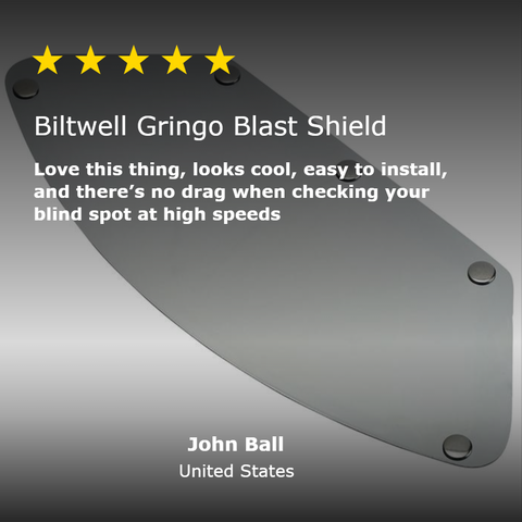 Gringo Blast Shield - Chrome Mirror