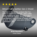 Lane Splitter Gen 2 Shield - Smoke