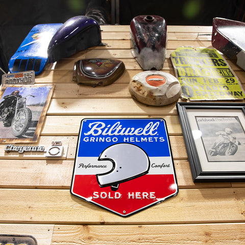 Biltwell Gringo Shop Sign