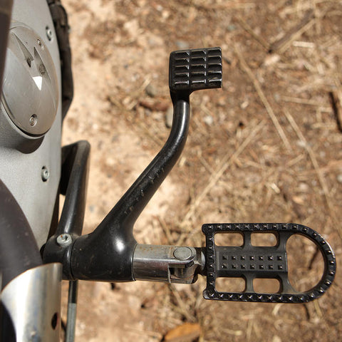 Mushman Foot Pegs H-D - Black