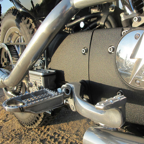 Mushman Foot Pegs H-D - Polished