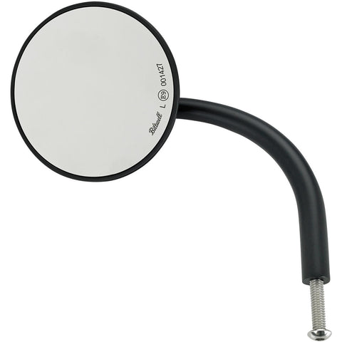 Utility Mirror Round CE Perch Mount - Black