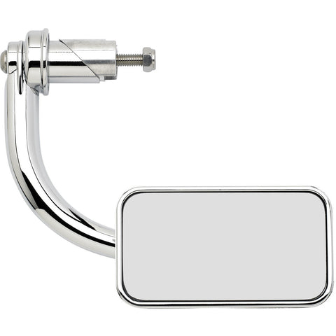 "Utility Mirror Rectangle Bar End 1"" - Chrome"