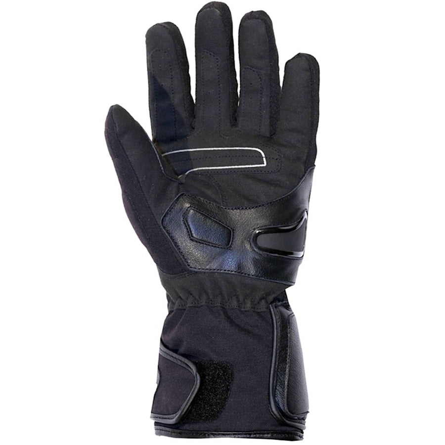 AGV Sport Petal Motorcycle Winter Leather/Fabric Long Gloves - DublinLeather