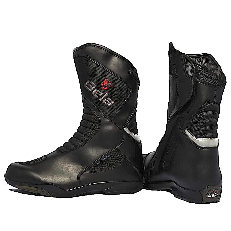 Bela Air Tech Hipora Waterproof Motorcycle Touring Boots - DublinLeather