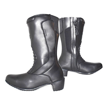 Bela Alpine Lady Motorcycle Touring Boots Leather Dublin Ireland UK