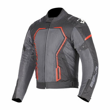 Bela Artex Motorcycle Touring Summer Textile Jacket - Black/Red