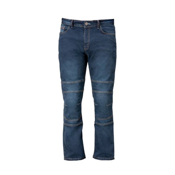 Bela Cast Denim Motorcycle Pants - DublinLeather