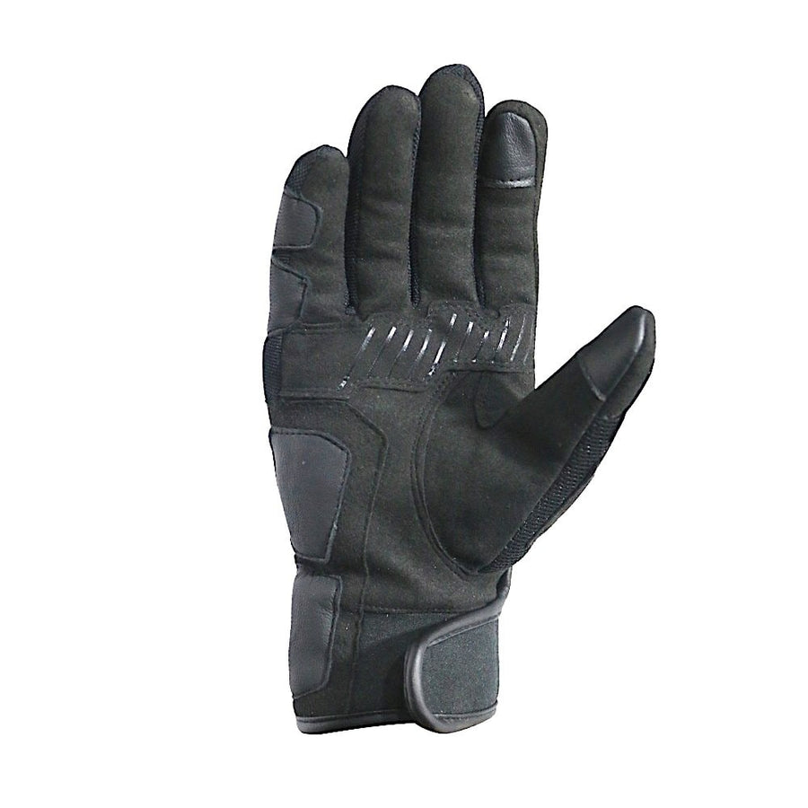 Bela Deluxe Black Leather Touring Gloves - DublinLeather
