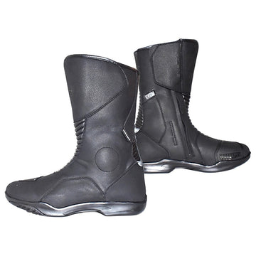 Bela Explorer Motorcycle Leather Waterproof Touring Boots - DublinLeather