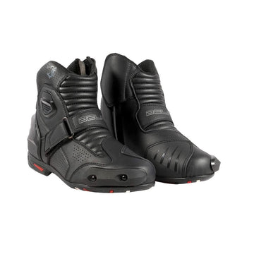 Bela-Faster-Black-Leather-Motorcycle-Racing-Short-Boots-Sale-Online-Dublin-Ireland-UK-France