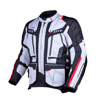 Bela Hailstorm Ice/Black Motorcycle Jacket - Touring